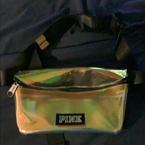 !FINAL price drop! PINK iridescent fanny pack